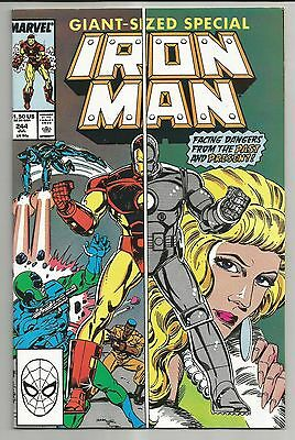 Iron Man #244 (1989) - Giant-Sized Special