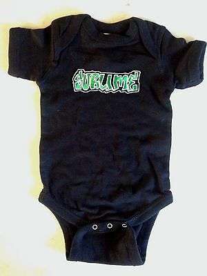 Sublime Baby One Piece Creeper Punk Rock T-Shirt New