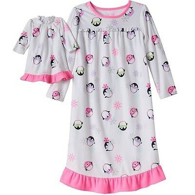 Girl and Doll Matching Pajamas 4-14 Nightgown Clothes American Girl Dollie & Me