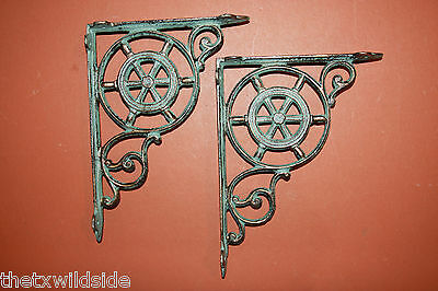 (4),marine Decor,antique Look,corbels, Shelf Brackets, Beach Decor, B-31