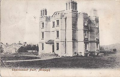c northern ireland postcard ulster irish armagh charlemont fort