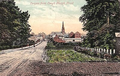 c northern ireland postcard ulster irish armagh lurgan