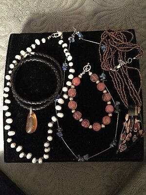 Mixed jewelry Lot Sterling Findings & Clasp