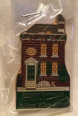 Department 56 Dickens Village Series History Pin - Dickens' Birthplace