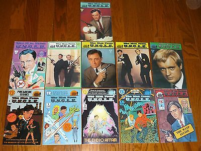 The Man From Uncle comic books # 1-11 COMPLETE SET, Napoleon Solo Illya Kuryakin