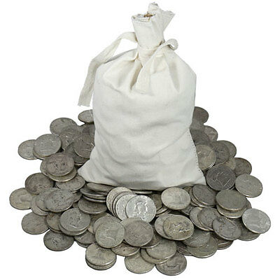 30 POUNDS LB BAG Mixed U.S. Junk Silver Coins ALL 90% Silver Pre-1965 Lot 2 ONE