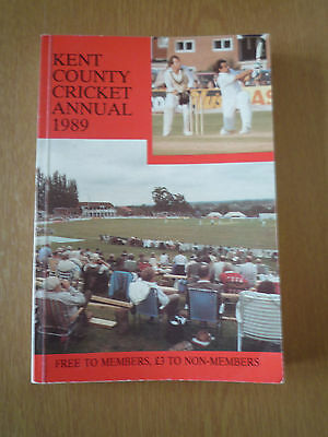 1989 Kent County Cricket Annual