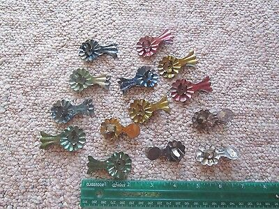 Vtg Antique Christmas Tree Candle Clips Lot HTF