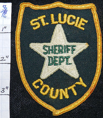 Florida, St. Lucie County Sheriff Dept Patch