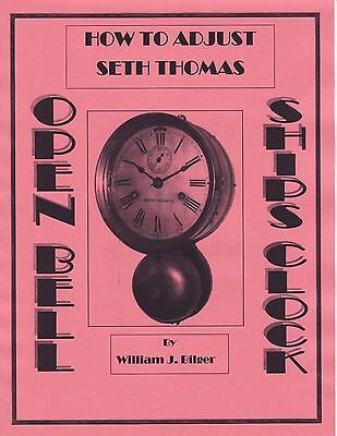 How to Adjust Seth Thomas Open Bell Ship's Clock - How to Book - CD