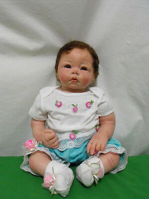 """Patricia Dedo """"madeline Rose"""" Reborn Baby Doll Ooak From """"luca"""" By Elly Knoops"""