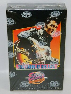 Elvis Presley The Cards of His Life Series One NEW & SEALED Box Vintage Set 1992