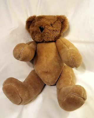Vermont Teddy Bear jointed naked