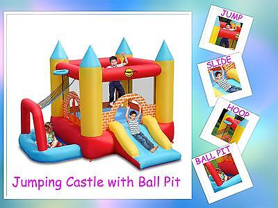 4 in 1 Jumping Castle Play Centre Happy Hop (9114)