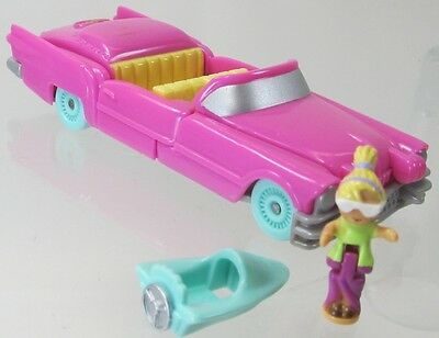 1995 Polly Pocket Vintage Pool Party on the Go Bluebird Toys Complete