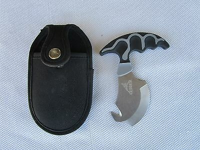 """Hunting-Hiking-GERBER SKINNING KNIFE-3"""" Blade/5 1/4"""" Overall-Sheath-EX CONDITION"""