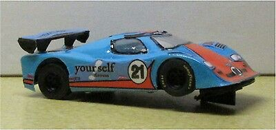 1/43 SCX YOURSELF FITNESS #21-DAYTONA 24hr. RACER-GOOD CONDITION-CUSTOM MADE