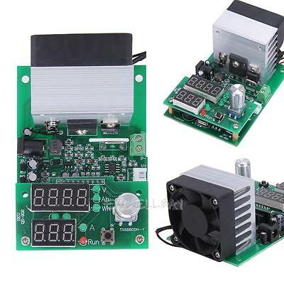Constant Current Electronic Load 9.99A 9999Wh 60W 1-30V Battery Capacity Tester