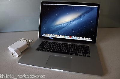 "Apple 15"" MacBook Pro 2.4Ghz i7 16GB RAM 256GB SSD RETINA Early 2013 SIERRA"