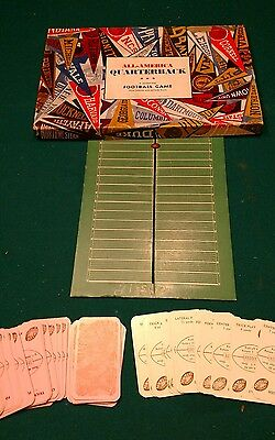 *RARE* 1930's FOOTBALL BOARD GAME *RARE* Antique Vintage Strategic Dated 1937