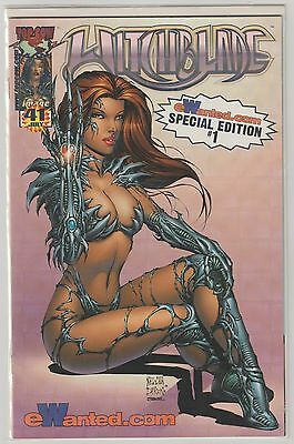 Witchblade  #41  Holo Prism  Plaid Variant  Special Edition #1 Sealed  Very Rare