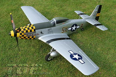 P-51 D MUSTANG Airplane RC Brushless PNP Warbird ESC Motor Servos ARF PNF  A-RTF