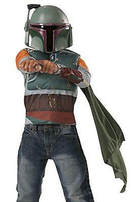 Imagine by Rubies Star Wars Classic Boba Fett Muscle Chest Shirt Set