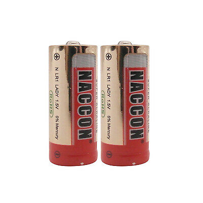 2 pc N Size LR1 1.5V Alkaline Battery AM5 E90 AM5 MN9100 Lady sum5 Red