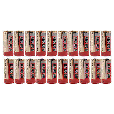 20 pc N Size LR1 1.5V Alkaline Battery AM5 E90 AM5 MN9100 Lady sum5 Red