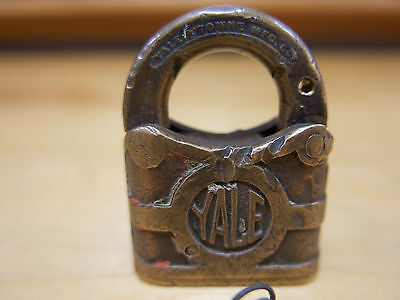 YALE Vintage Pad Lock , Yale and Towne , Keys included