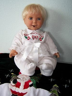 """2002 18"""" MIRACLE MOVES DRINK AND WET ANIMATEDBABY DOLL Silicone So Real, Mattel"""