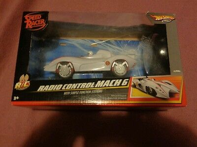 New, in package, Speed Racer Radio Control Mach 6
