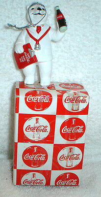 Coca Cola Coke Polar Bear Always A Doctor Christmas Ornament