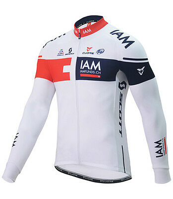 langes Trikot IAM Cycling Team Bronze Thermal Jersey 2016