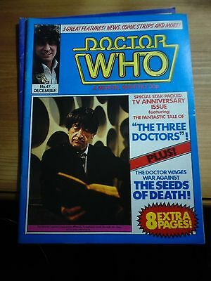 DOCTOR WHO MONTHLY MAGAZINE No.47 DECEMBER 1980