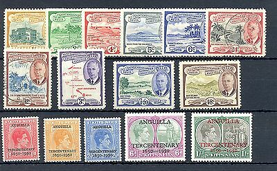 St Christopher-Nevis-Anguilla  15  Stamps  * /0  Vf