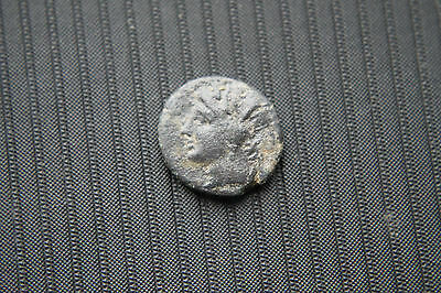 ANCIENT ITALIAN? SICILIAN BRONZE COIN 4/2nd CENTURY BC