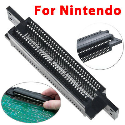 72 Pin Replacement Connector Cartridge Slot For Nintendo Nes 8-bit Console New