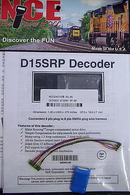 Nce Decoder D15Srp 6 Function Nce5240105