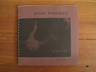 JANE SIBERRY Swan Three Poems 1998 FIRST EDITION SIGNED BOOKLET ON SHEEBA