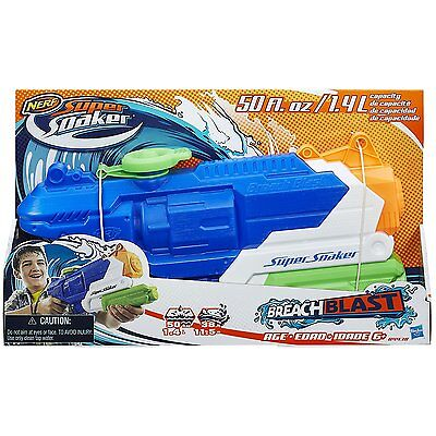 Brand New NERF Super Soaker BREACH BLAST Water Pistol BLASTER  BreachBlast
