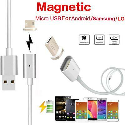 2.4 A Micro USB Charging Cable Magnetic Adapter Charger for Samsung Android HTC