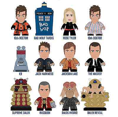 DOCTOR WHO VINYL FIGURES FROM TITANS  FULL SET OF 12 The Gallifrey! Collection