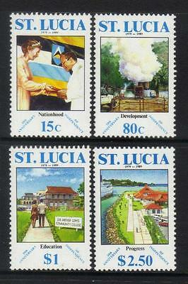 ST LUCIA 1989 10th ANNIV OF INDEPENDENCE U/M