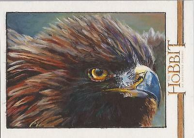 "The Hobbit An Unexpected Journey - Gavin Hunt ""Great Eagle"" Sketch Card"