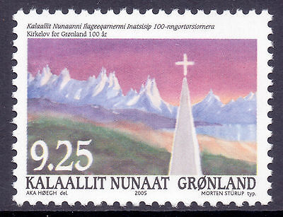 GREENLAND 2005 stamp Church Law Centenary um (NH) mint Architecture