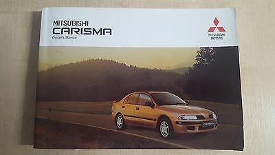 Mitsubishi Carisma Onwer's Manual