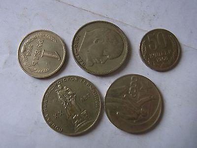 Many Russian USSR Coins