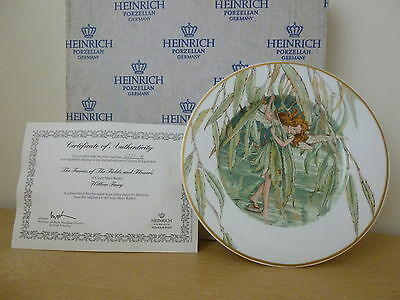 Heinrich Fairies of the Fields & Flowers Cicely Mary Barker Willow Fairy Plate