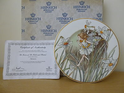 Heinrich Fairies of the Fields & Flowers Cicely Mary Barker Narcissus Plate